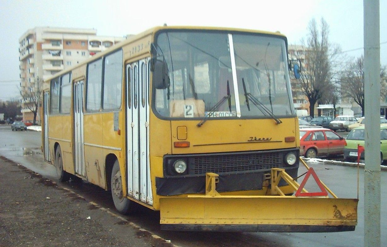 2133. Bus Ikarus on line 2. January 6, 2006
