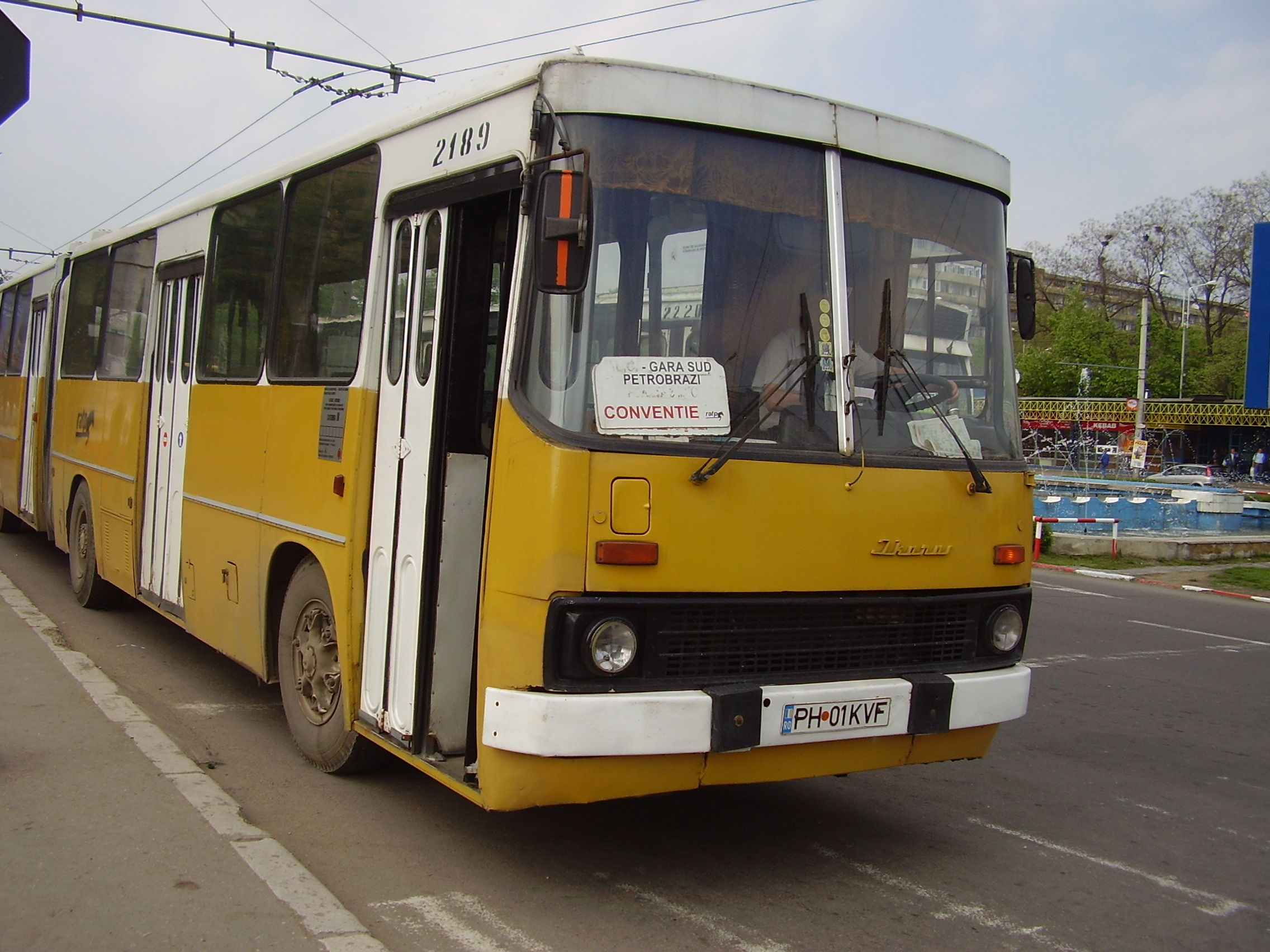 2189. Bus Ikarus on line 0. April 25, 2006