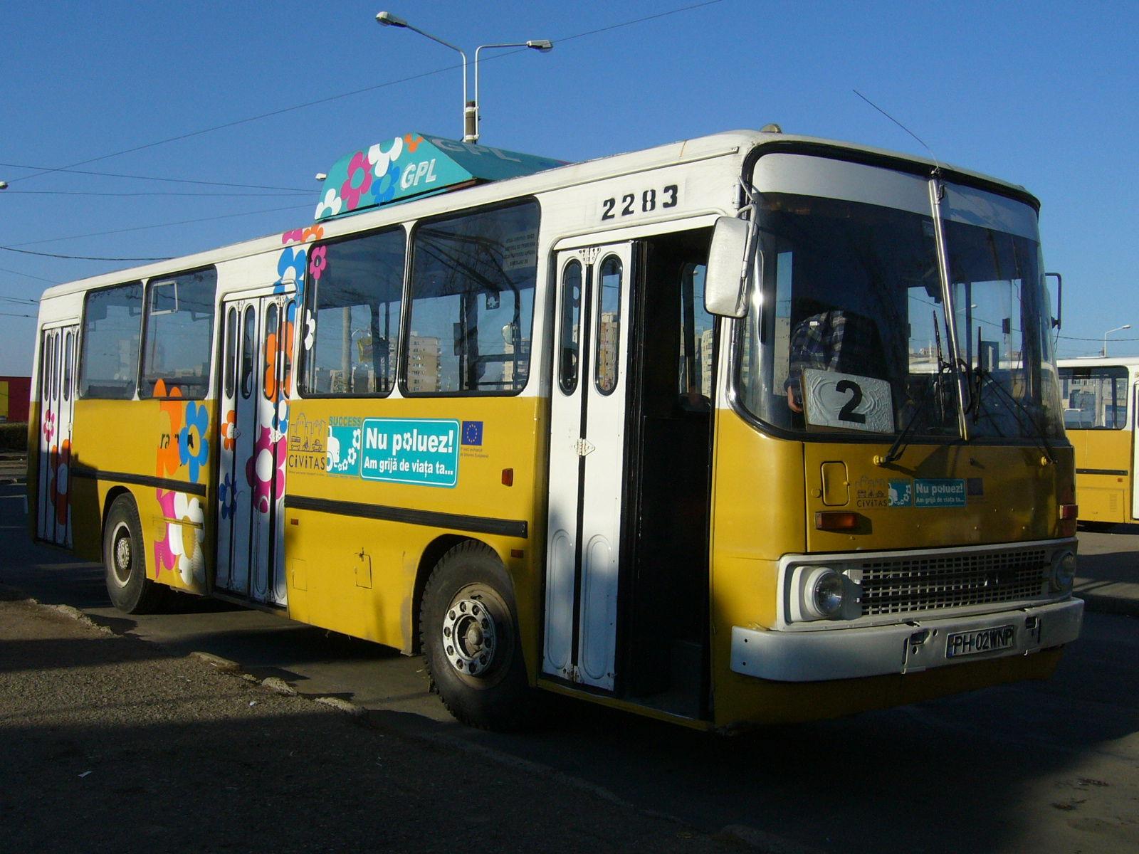 2283. Bus Ikarus on line 2